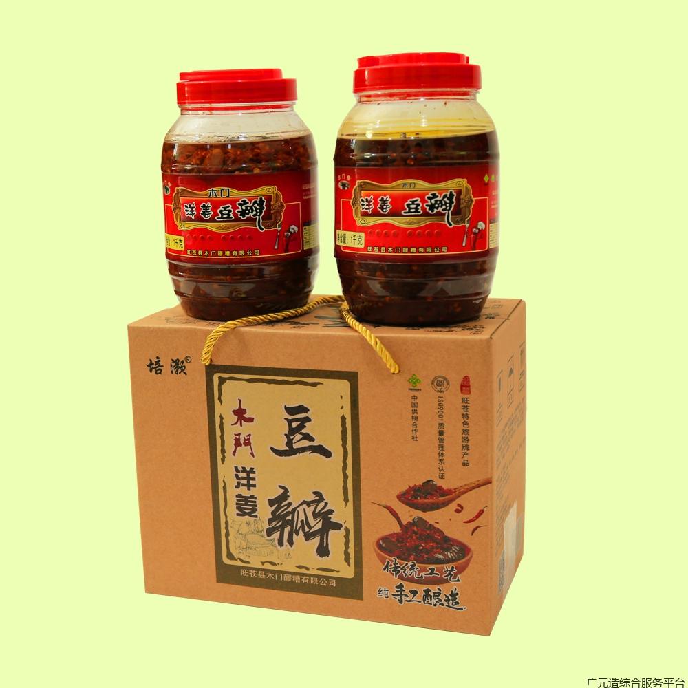 洋姜豆瓣-罐装