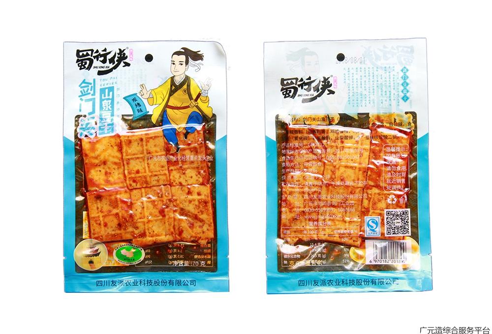 蜀行侠豆腐干130g