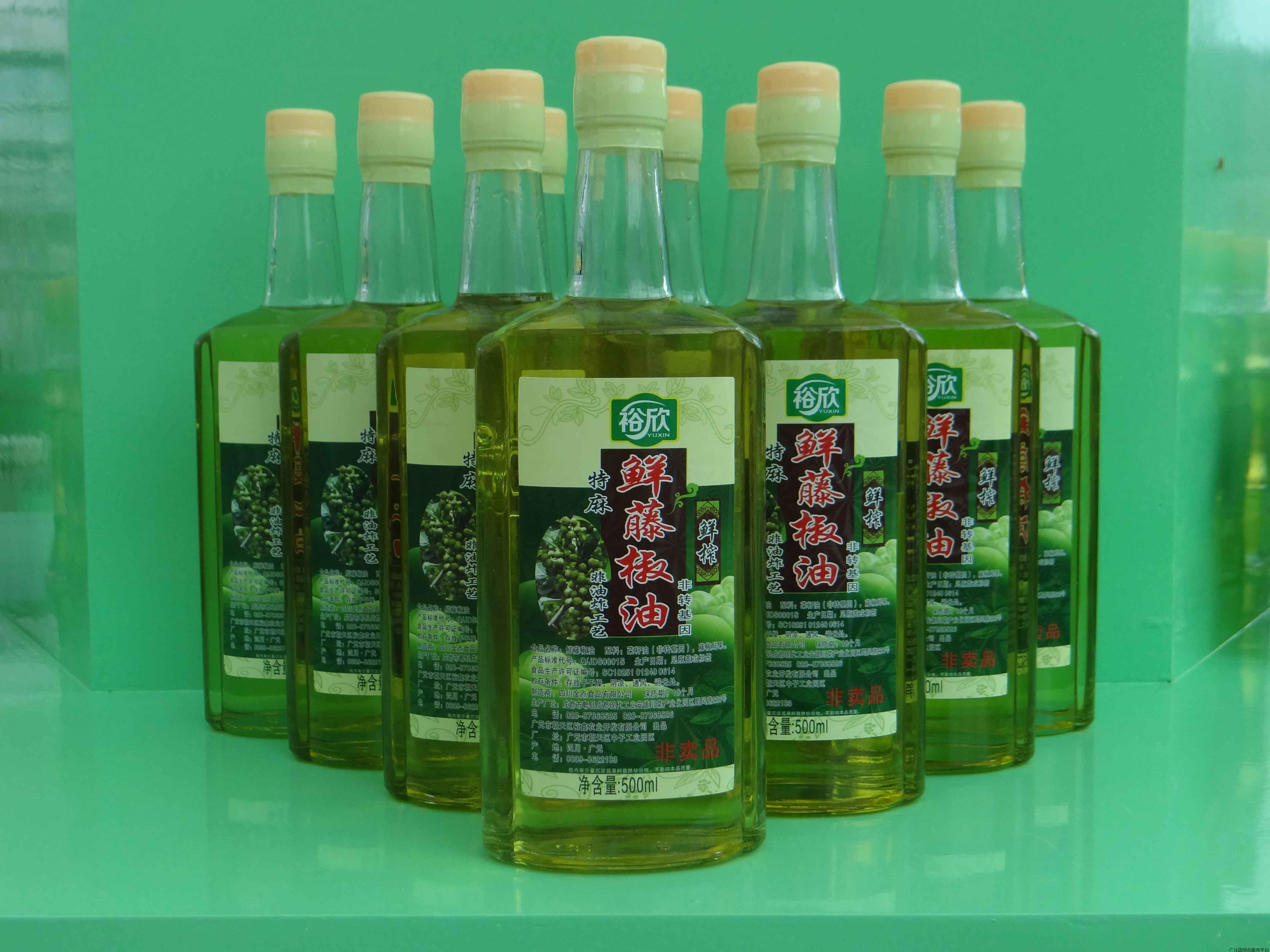 鲜藤椒油520ml